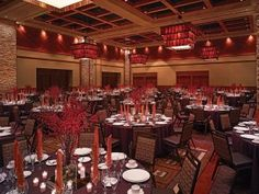 Summit Ballroom dinner and reception space at Ameristar Casino Resort Spa in Black Hawk, Colorado.