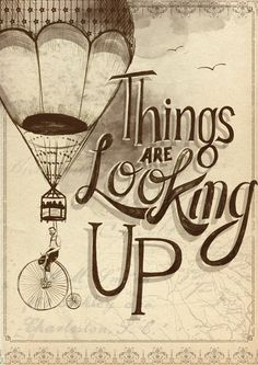 things are looking up - poster
