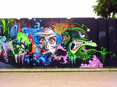 Grafitti Berenkuil Eindhoven by Noud!, via Flickr