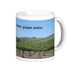 Mug: California is a Great Grape State