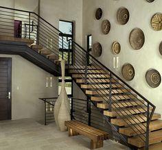 25 идей лестниц в интерьере дома — Журнал — MyHome