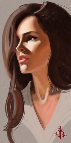 Timed Head Sketch 488 by FUNKYMONKEY1945.deviantart.com on @deviantART