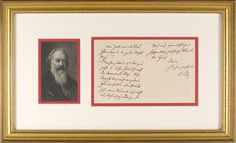RR Auction: Browse Gallery Brahms