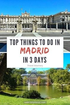 Top Things to Do in #Madrid in 3 Days [Travel Itinerary]   Travellector #travel #traveltips #travelitinerary #Spain