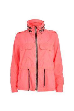 Make It Rain! 14 Chic Slickers To Brighten Your Day  #refinery29  http://www.refinery29.com/best-rain-jackets#slide6