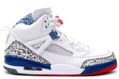 huge discount 0c468 8e702 Jordan Spizike White Varsity Red - True Blue 315371-163  73.00  www.niceshoesu.