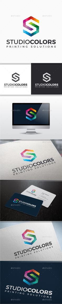 Studio Colors Letter S - Logo Design Template Vector #logotype Download it here: http://graphicriver.net/item/studio-colors-letter-s-logo/9001425?s_rank=53?ref=nexion