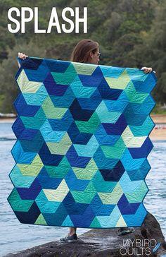 Splash Quilt by Jaybird Quilts