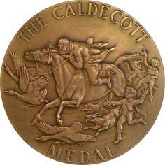 The Randolph Caldecott Medal by Rene P. Chambellan (1937)