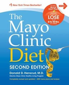The Mayo Clinic Diet second edition by Donald D. Hensrud, M.D.