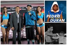On May 17, 2014 Pedro Lil Pete Duran will be fighting on the undercard of Juan Manuel Marquez vs Timothy Bradley at The Forum in Los Angeles, CA.