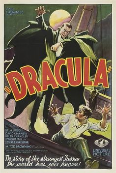 Dracula with Bella Lugosi. Click on the image to check our catalog.