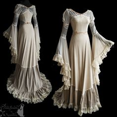 Buy 2017 Winter Women Luxury Medieval Style Floor Length Renaissance Princess Dress Sexy Lace Dress Party Dress Christams Dress at Wish - Shopping Made Fun Pretty Dresses, Sexy Dresses, Beautiful Dresses, Vintage Dresses, Vintage Outfits, Vintage Fashion, Vintage Lace, Vintage Costumes, Linen Dresses