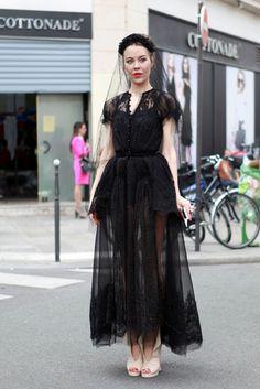 Ulyana Sergeenko - Haute Couture Shows Paris... Ulyana i love you