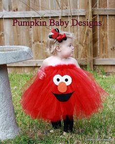 maybe a small tutu with elmo on the tush! haha!:)