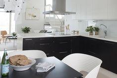 Upea avokeittiö Kitchen, Decor, Home