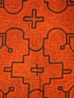 Shipibo | shipibo cloth # shpc 6 shipibo people peru c 2008 cotton fabric with ...