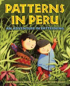 Patterns in Peru: An Adventure in Patterning by Cindy Neuschwander http://www.amazon.com/dp/B002PJ4IDO/ref=cm_sw_r_pi_dp_V6L2tb0P0VC9NK0Y Teaching Social Studies, Teaching Math, Social Studies Classroom, Kindergarten Math, Maths, Teaching Ideas, Preschool, Math Patterns, Math Books