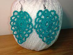crochet tutorial for earrings ♥