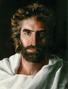 "A Boy had a near death experience and went to heaven. A girl in Ukraine also had a near death experience and painted this picture of Jesus. People showed the boys pictures of Jesus, but none were quite what he thought Jesus looked like. They showed them this picture and he said ""That's Jesus"""