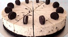 Oreo cheesecake λευκής σοκολάτας Oreo Cheesecake, Sweet Recipes, Camembert Cheese, Sweets, Desserts, Food, Youtube, Tailgate Desserts, Deserts