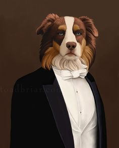 Matthew Crawley & other Downton Abbey characters as cats and dogs