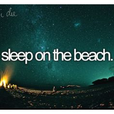I want to..
