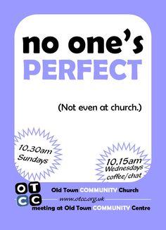 outreach card for our church