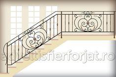 Imagini pentru balustrada fier forjat