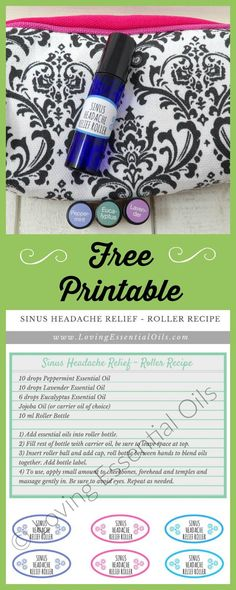 My favorite essential oils for sinus headache include peppermint, lavender and eucalyptus. This blend of oils can help relieve the pressure, tension, pain and stuffiness that occurs from sinus headaches.