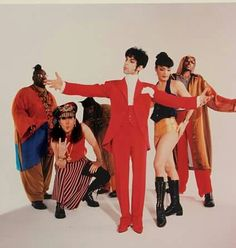 Michael Bland, Tommy Barbarella, Sonny T., Mayte Garcia and Morris Hayes. Prince Images, Pictures Of Prince, Prince And Mayte, My Prince, The Artist Prince, Old School Music, Paisley Park, Roger Nelson, Prince Rogers Nelson