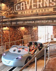Cars Land at DCA greets Disney execs ahead of June 15th opening - Radiator Springs Racers