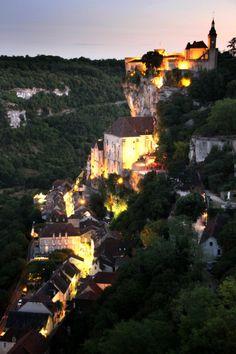 e4rthy: Rocamadour, night classic by Jim Higham