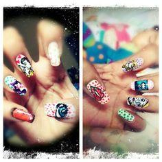 lichtenstein nails art