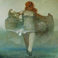 Pintura de Beksinski.