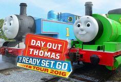 The Day Out with Thomas 2016 Ready Set Go Tour is on track across the USA and Canada. All aboard in 26 states and 3 provinces!, http://www.thomastrainrides.com/fun-and-games.html#03mar16
