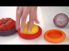 Food Huggers (set van 5) Herbruikbare wraps voor groenten en fruit Food Huggers - Kudzu eco webshop