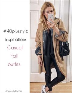 be73291e3e7cc  40plusstyle inspiration  The best casual looks for Fall