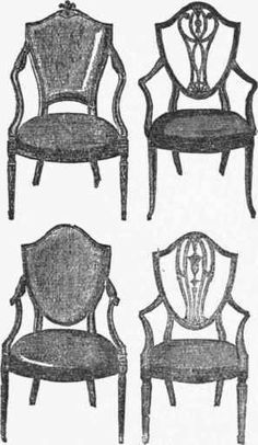 Sheraton Chair   Sheraton Is A Late 18th Century Neoclassical English  Furniture Style, In Vogue Ca 1785   1820, That Was Coined By 19th Century  Collectors ...