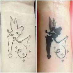 Campanilla va cogiendo forma!! Super tattoo de mi niño Jerónimo Velasco!! Tinkerbell disney