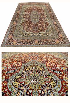 red-kashan-oriental-carpet-silk-on-silk-rug-burgundy-maroon-traditional-carpets-museum-quality-handknotted-area-rugs-accent-medallion-persian-style-fine-carpets-6ftx9ft  #Persianrug #PersianCarpet #persianrugsinfo #ruglovers