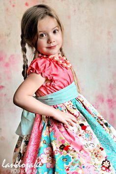 easter dress from Corinna couture on Etsy
