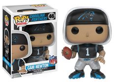 Carolina Panthers Cam Newton Pop! NFL Series 3 Vinyl Figure