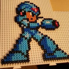 Mega Man perler beads by  eden8bit