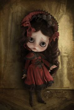 "https://flic.kr/p/eafrqm | Old photographic portrait | Gersendre Winter Berry ~ A warm light in the iciness ~     Piece unique - Blythe doll 2012     Rebeca Cano ~ Cookie dolls <a href=""http://www.cookie-dolls.com"" rel=""nofollow"">www.cookie-dolls.com</a> © All rights reserved"