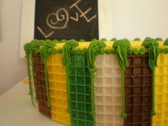torta de utilería Tortas by Dulcinea de la fuente www.facebook.com/dulcinea.delafuente  #fiesta #festejo #cumpleaños #mesadulce#fuentedechocolate #agasajo# #candybar  #tamatización #souvenir  #regalos personalizados #catering finger food