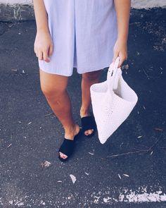 Koko asu ja ohje tähän virkattuun kassiin tänään blogissa!  #moreontheblog #fashionstatement #diy #summeroutfit #hmootd