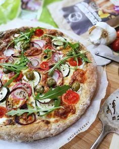 @szafi_fitt zöldséges-sajtos #pizza Fitt, Cukor, Vegetable Pizza, Vegetables, Vegetable Recipes, Veggies