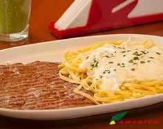 Restaurante America - Cardápio - Pasta & Cia - Paillard de Mignon & Pasta