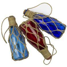 NA 6597 - Bottigliette colorate galleggianti